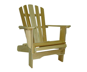 cedar chairs and benches