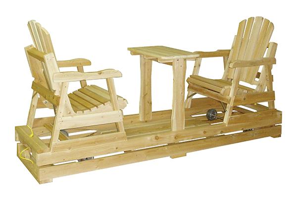 meubles de jardin tables chaises et balan oires. Black Bedroom Furniture Sets. Home Design Ideas