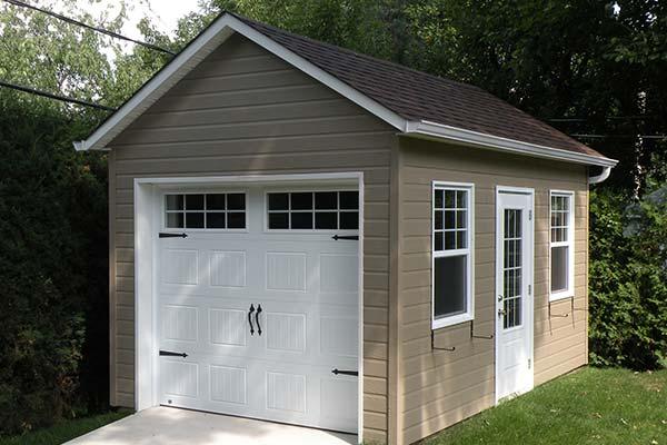 Porte de cabanon jumelle en acier 50 po gauche portes d 39 ext rieur canac - Porte de garage a vendre ...