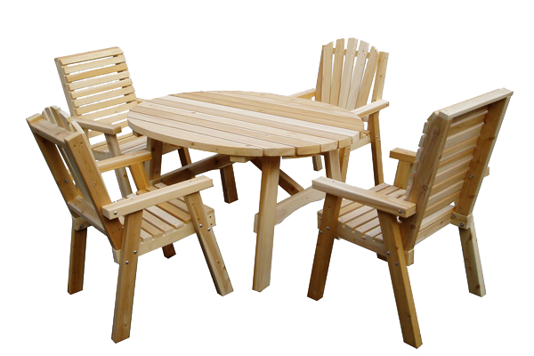 Patio and bistro tables garden furniture cabanon mercier - Table chaises de jardin ...