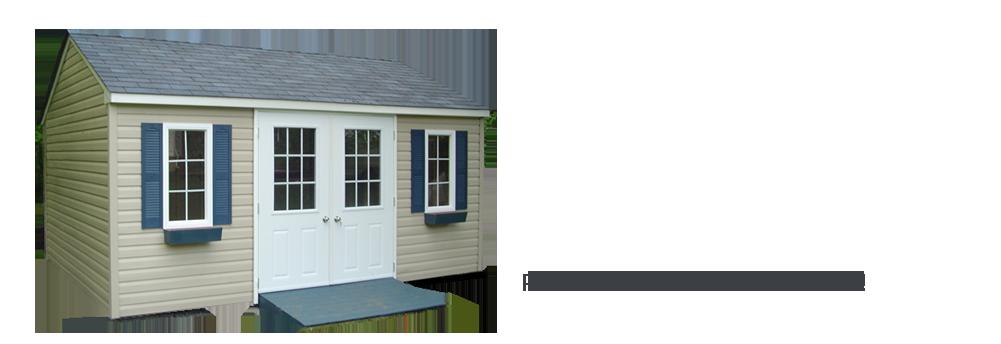 Cabanons gaz bos et meubles de jardin cabanon mercier for Porte double cabanon